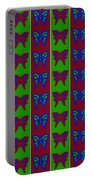 Serendipity Butterflies Blueredgreen 14of15 Portable Battery Charger