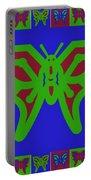 Serendipity Butterflies Blueredgreen 6of15 Portable Battery Charger