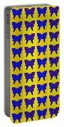 Serendipity Butterflies Brickgoldblue 27 Portable Battery Charger