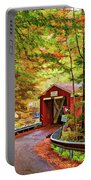 Serendipity Painted Portable Battery Charger