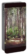 Serene Forest Portable Battery Charger