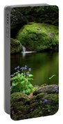 Serene Green Portable Battery Charger
