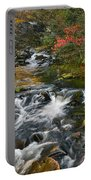 Serene Mountain Stream Portable Battery Charger