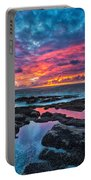 Serene Sunset Portable Battery Charger