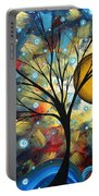 Serenity Falls By Madart Portable Battery Charger by Megan Duncanson