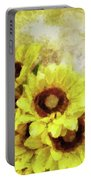 Serenity Sunflowers Portable Battery Charger