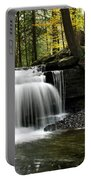Serenity Waterfalls Landscape Portable Battery Charger