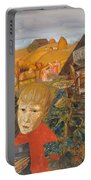 Sergei Esenin 1895-1925 As A Youth, Boris Grigoriev Portable Battery Charger