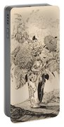 Sergey Vasilievich Chekhonin Russian 1878-1936 Flower Bouquet, 1935 Portable Battery Charger