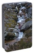 Serra Da Estrela Mountains And Waterfall Portable Battery Charger
