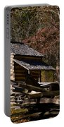 Settlers Cabin Cades Cove Portable Battery Charger