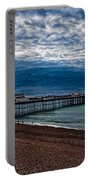 Seven Am On Brighton Seafront Portable Battery Charger