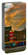 Seventh And Bleeker At Sunrise Nyc Portable Battery Charger