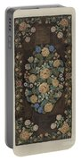 """Sewed """"caterpillar"""" Rug Portable Battery Charger"""