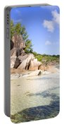 Seychelles Rocks Portable Battery Charger