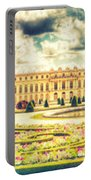 Shabby Chic Hdr Panorama Versailles Paris Portable Battery Charger