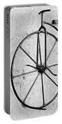 Shabby Chic, Old Bicycle No 01 Portable Battery Charger