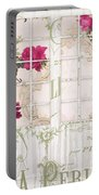 Shabby Cottage French Doors Portable Battery Charger