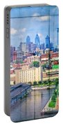 Shades Of Philadelphia Portable Battery Charger