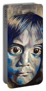 Shades Of Why, Sad Child Painting Portable Battery Charger