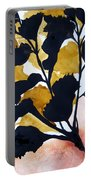 Shadow Hibiscus Portable Battery Charger