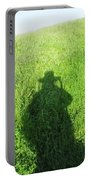 Shadow In The Grass Portable Battery Charger