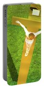 Shadow Of The Christ Portable Battery Charger