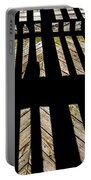 Shadows And Lines - Semi Abstract Portable Battery Charger