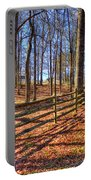 Shadows In Autumn Portable Battery Charger