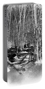 Shadows Of Winter Portable Battery Charger