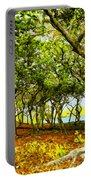 Shady Grove At Wai'anapanapa Portable Battery Charger