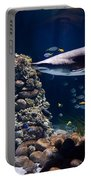 Shark In Zoo Aquarium Portable Battery Charger