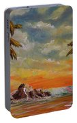 Sharks Cove North Shore Oahu #394 Portable Battery Charger