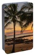 Sharks Cove Sunset 4 - Oahu Hawaii Portable Battery Charger