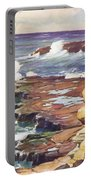 Sharp Rocky Coastline Portable Battery Charger