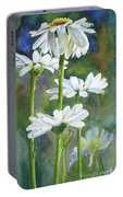 Shasta Daisies Portable Battery Charger