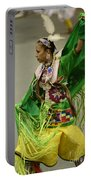 Pow Wow Shawl Dancer 3 Portable Battery Charger