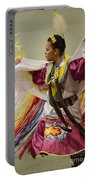 Pow Wow Shawl Dancer 4 Portable Battery Charger