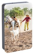 Shawnee Sagers Goat Roping Competition Portable Battery Charger