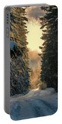Shawnigan Winter Road Portable Battery Charger