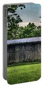 Shed At Camp Pecometh Portable Battery Charger