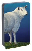 Sheep At The Edge Portable Battery Charger