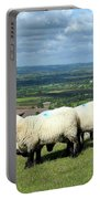 Sheep At Westbury Tor Portable Battery Charger