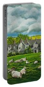 Sheep In Repose Portable Battery Charger