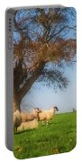 Sheep In Somerset - Impressions Portable Battery Charger