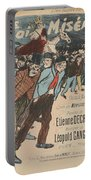 Sheet Music Le Roi Misere By Etienne Decrept And Leopold Gangloff, Performed By Mevisto Theophile Al Portable Battery Charger