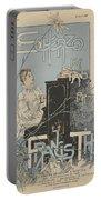 Sheet Music Scherzo Pour Piano Portable Battery Charger