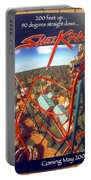 Sheikra Ride Poster 2 Portable Battery Charger