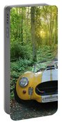 Shelby Ac Cobra In The Woods Portable Battery Charger