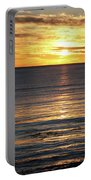 Shell Beach Sunset Portable Battery Charger